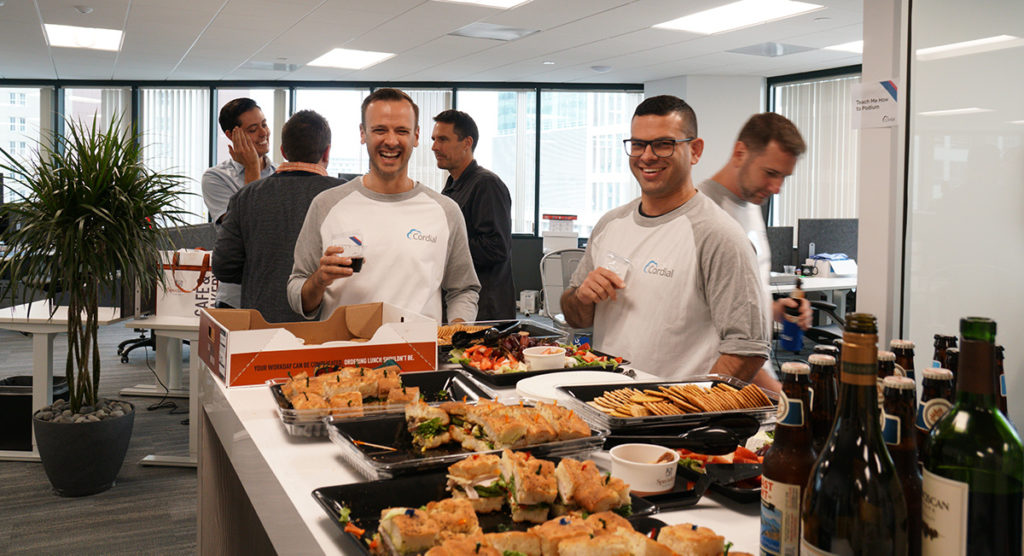 Happy Hour at Cordial Client Mixer