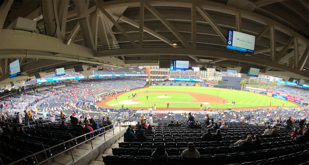 Padres game after Cordial Client Mixer