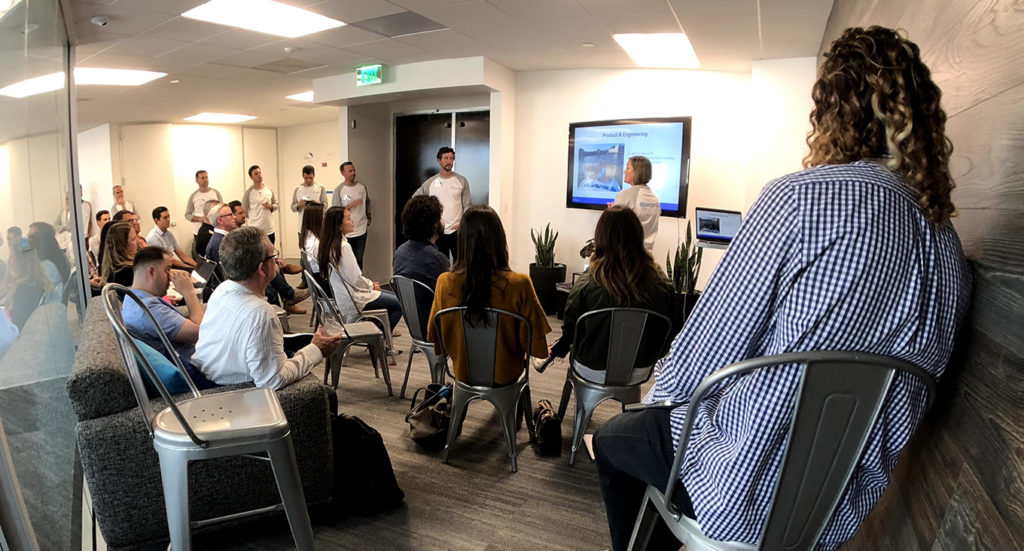 Roadmap session at Cordial client mixer