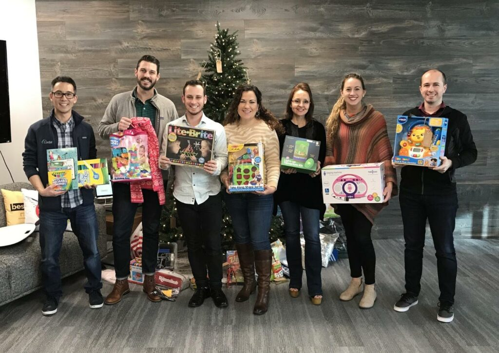 Cordial Cares holiday spirit of giving