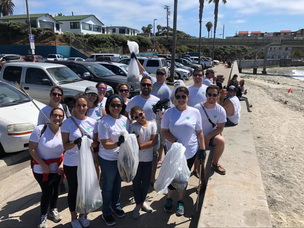 Cordial Cares parks department clean up event