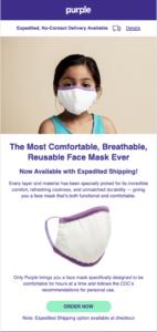 Purple masks email