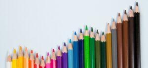 Color pencil graph